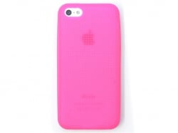 Iphone 5/5S mobile case that can be embroidered - fuchsia