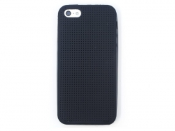 iPhone 5/5S mobile case that can be embroidered - black