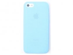 Handyhülle fürs iPhone 5/5S zum Besticken - blau