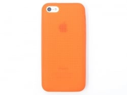 Coque IPHONE 5/5S à broder - Orange  - 1