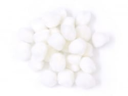 Pompons blancs - 15mm Rico Design - 1