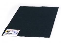 Felt sheet - black