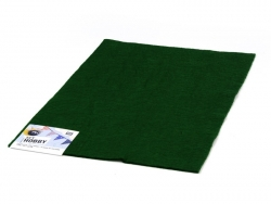 Felt sheet - dark green