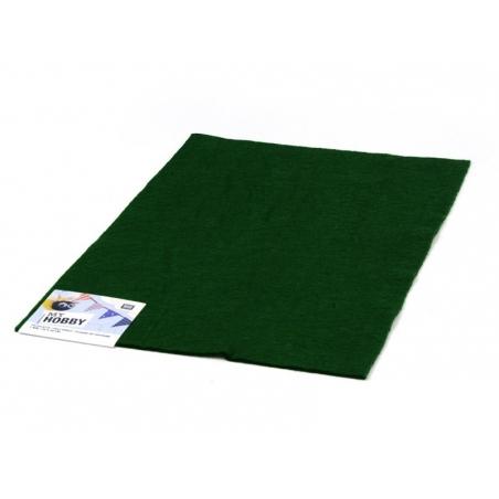 Felt sheet - dark green