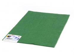 Felt sheet - green