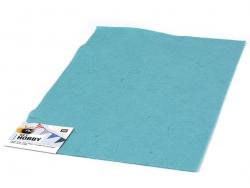 Plaque de feutrine - Turquoise