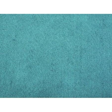 Acheter Plaque de feutrine - Turquoise - 0,59€ en ligne sur La Petite Epicerie - 100% Loisirs créatifs