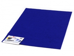 Felt sheet - dark blue