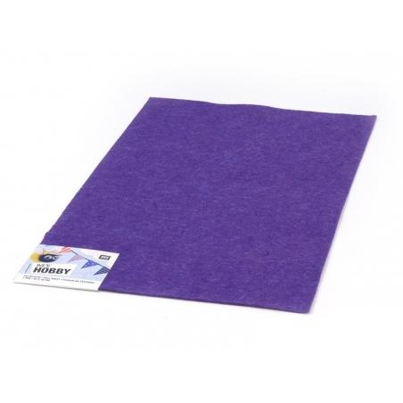 Acheter Plaque de feutrine - Violet - 0,59€ en ligne sur La Petite Epicerie - 100% Loisirs créatifs