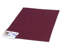 Felt sheet - burgundy