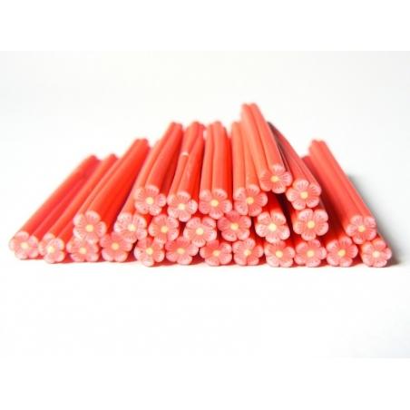 Acheter Cane fleur rouge en pâte polymère - 0,99€ en ligne sur La Petite Epicerie - 100% Loisirs créatifs