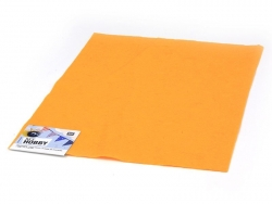 Filzplatte - orange