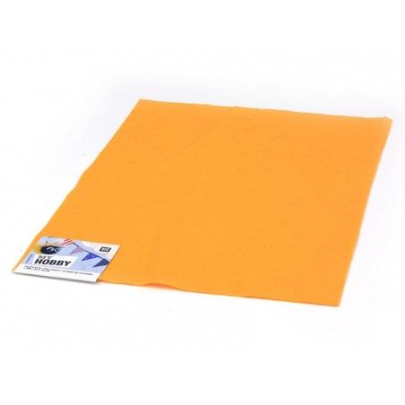 Plaque de feutrine - Orange