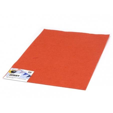 Plaque de feutrine - Orange Foncé