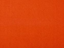 Felt sheet - dark orange