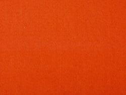 Filzplatte - dunkelorange