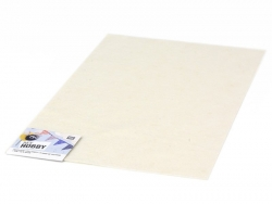 Felt sheet - cream white