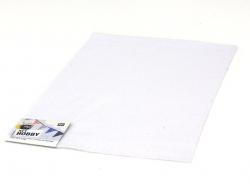 Filzplatte - weiß