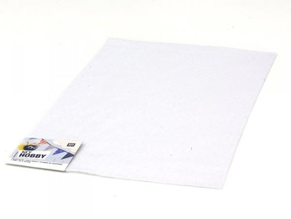 Felt sheet - white