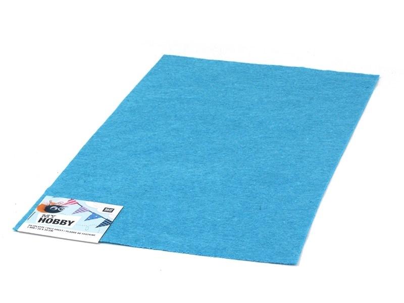 Acheter Plaque de feutrine - Bleu Clair - 0,59€ en ligne sur La Petite Epicerie - 100% Loisirs créatifs