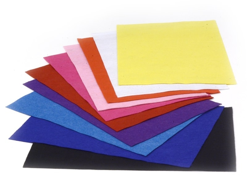 Acheter Lot de 10 plaques de feutrine - Basic - 5,50€ en ligne sur La Petite Epicerie - 100% Loisirs créatifs