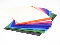 10 felt sheets - Fashion