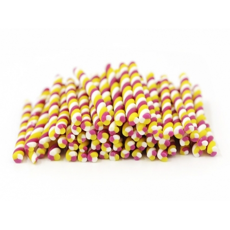 Candy cane - marshmallow, vanilla and strawberry