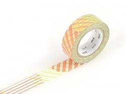 Acheter Masking tape motif - Rayures croisées rouge - 3,30€ en ligne sur La Petite Epicerie - 100% Loisirs créatifs