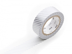 Patterned masking tape - Silver stripes Masking Tape - 1