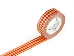 Masking tape motif - Arlequin rouge Masking Tape - 1