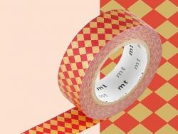 Masking tape motif - Rayures et pois argent