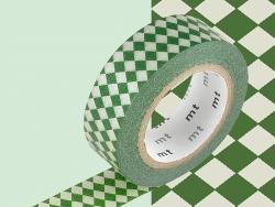 Masking tape motif - Arlequin rouge
