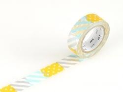Masking tape motif - Rayures et pois H Masking Tape - 1