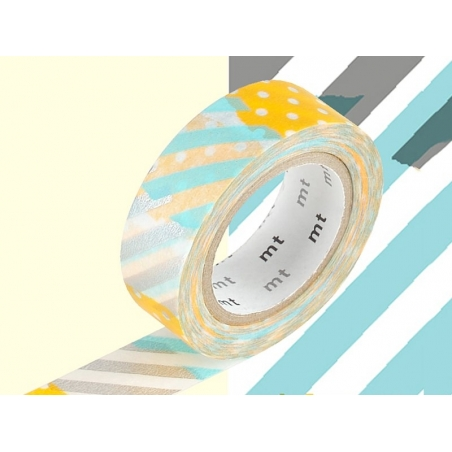 Masking tape with a pattern - Stripes and dots (H) Masking Tape - 2