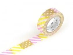 Masking tape motif - Rayures et pois I Masking Tape - 1