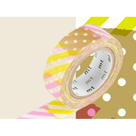 Masking tape motif - Rayures et pois I Masking Tape - 2