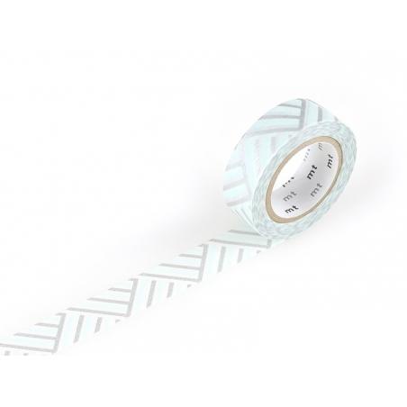Masking tape motif - Tressage/Angle bleu Masking Tape - 1