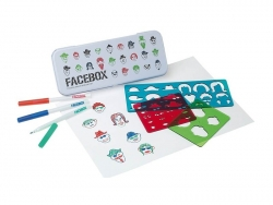 Facebox - stencils and a beautiful metal box