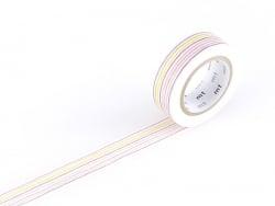 Masking tape motif - Rayures crayon Masking Tape - 1