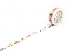 Masking tape KIDS motif - Voyage et loisirs
