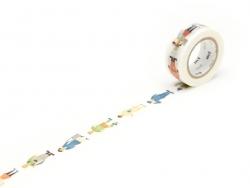 Masking tape KIDS motif - Métiers Masking Tape - 1