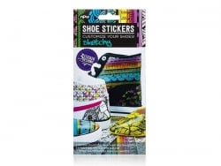 "Shoe stickers - ""Sketchy"""
