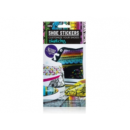 """Stickers pour chaussures """"Sketchy"""""""