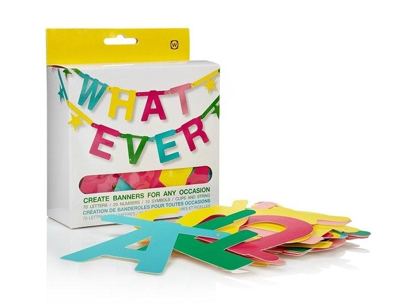 Acheter Kit création de banderole - 8,70€ en ligne sur La Petite Epicerie - 100% Loisirs créatifs