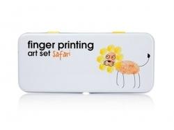 """Kit l'art d'empreintes digitales """"Safari"""""""