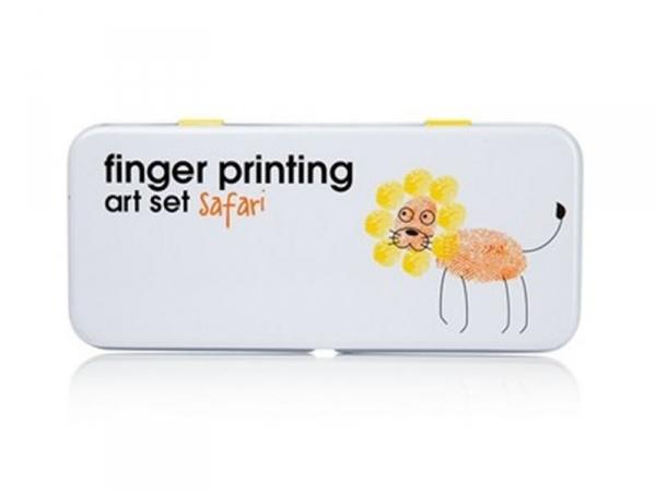 """Finger printing art set """"Safari"""""""