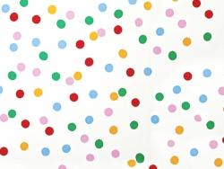 8 assiettes en papier carrées - Multicolores