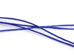 1 m de fil de jade / fil nylon tressé 1 mm - bleu roi