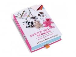 """French book """"Coffret  à tiroir - bijoux et gris-gris en feutrine"""""""