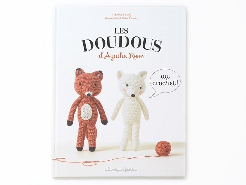 Livre Les doudous d'Agathe Rose au crochet !